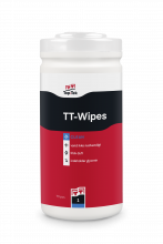 TT-1 TT-Wipes - rengØrings- og affedtningsklud i handy emballage
